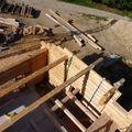 2009 09 07 La construction de Frédéric Montiel le Fustier à La Côte Chaude (5)