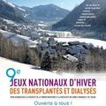 Les jeux nationaux d'hiver des transplantés et dialysés