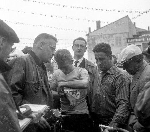 1961 Bergerac TDF Anquetil clm