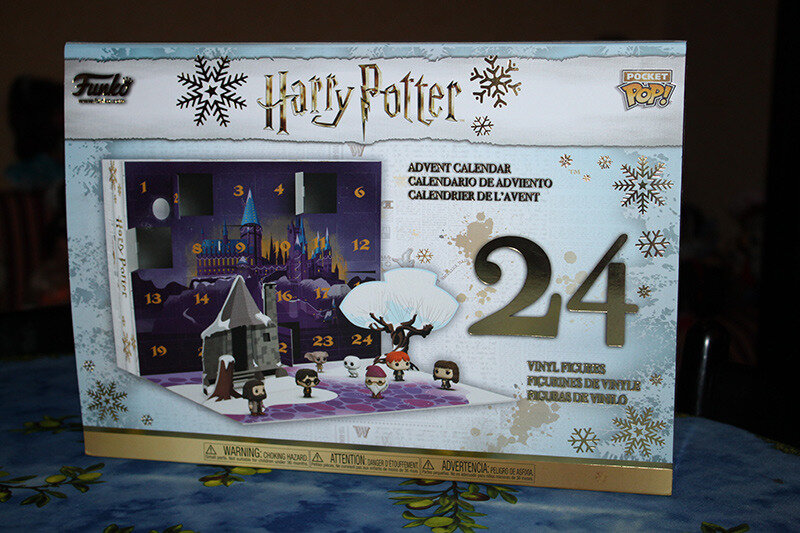 Calendrier De Lavent Harry Potter Funko Pop.Calendrier De L Avent Pop Funko Harry Potter 1 Mon Coffre