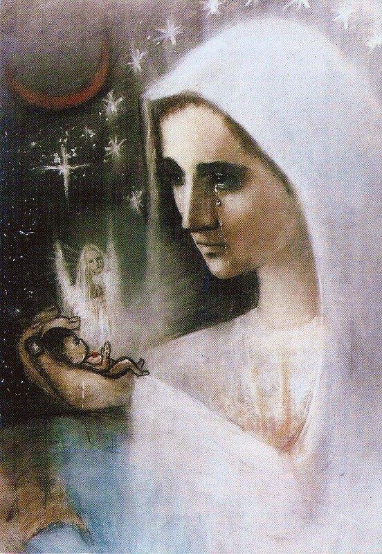 Marie, Mère des enfants avortés