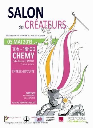 affiche-salon-createur-chemy-2013-mary-du-pole-nord-owly-mary