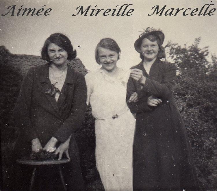 3 soeurs, photo ancienne