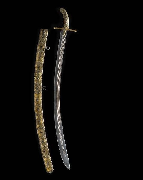 History Written With A Sword Early Gem-Set Saber To