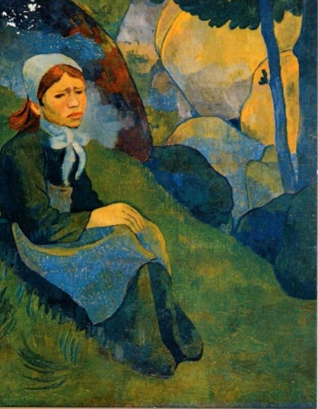 serusier-solitude-la-ramasseuse-de-fougeres-1893