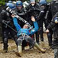 Expulsions illégales et déferlement militaire sur la zad