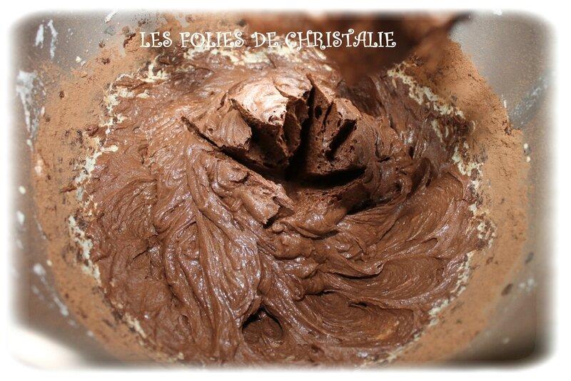 Gâteau magique brownie 5