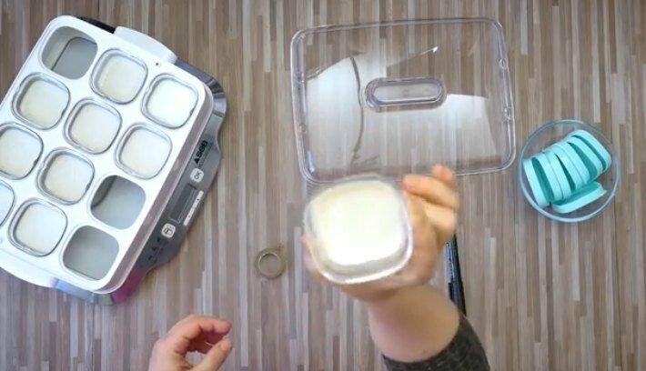 yaourt au lait de croissance