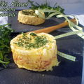 Petits flans jambon fromage ( micro ondes)