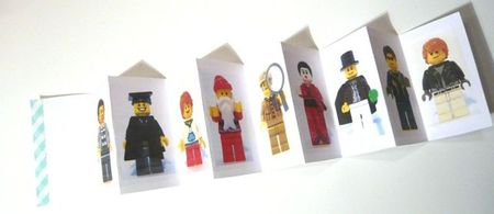invitation collection figurines lego