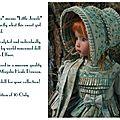 Epin rose peinte par dianna effner et habillée par magalie dawson