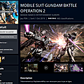 Gundam Battle Op2 PS4