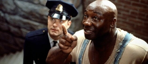Michael Clarke Duncan et Tom Hanks