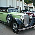 MERCEDES 320 W142 Pullmann cabriolet F 1938 Baden Baden (1)