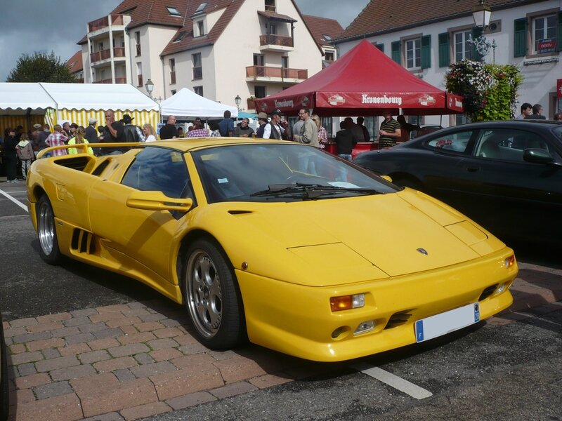 LAMBORGHINI Diablo SV Roadster 1997 Benfeld (1)