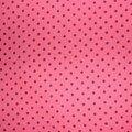 tissus à pois americain rose et gris