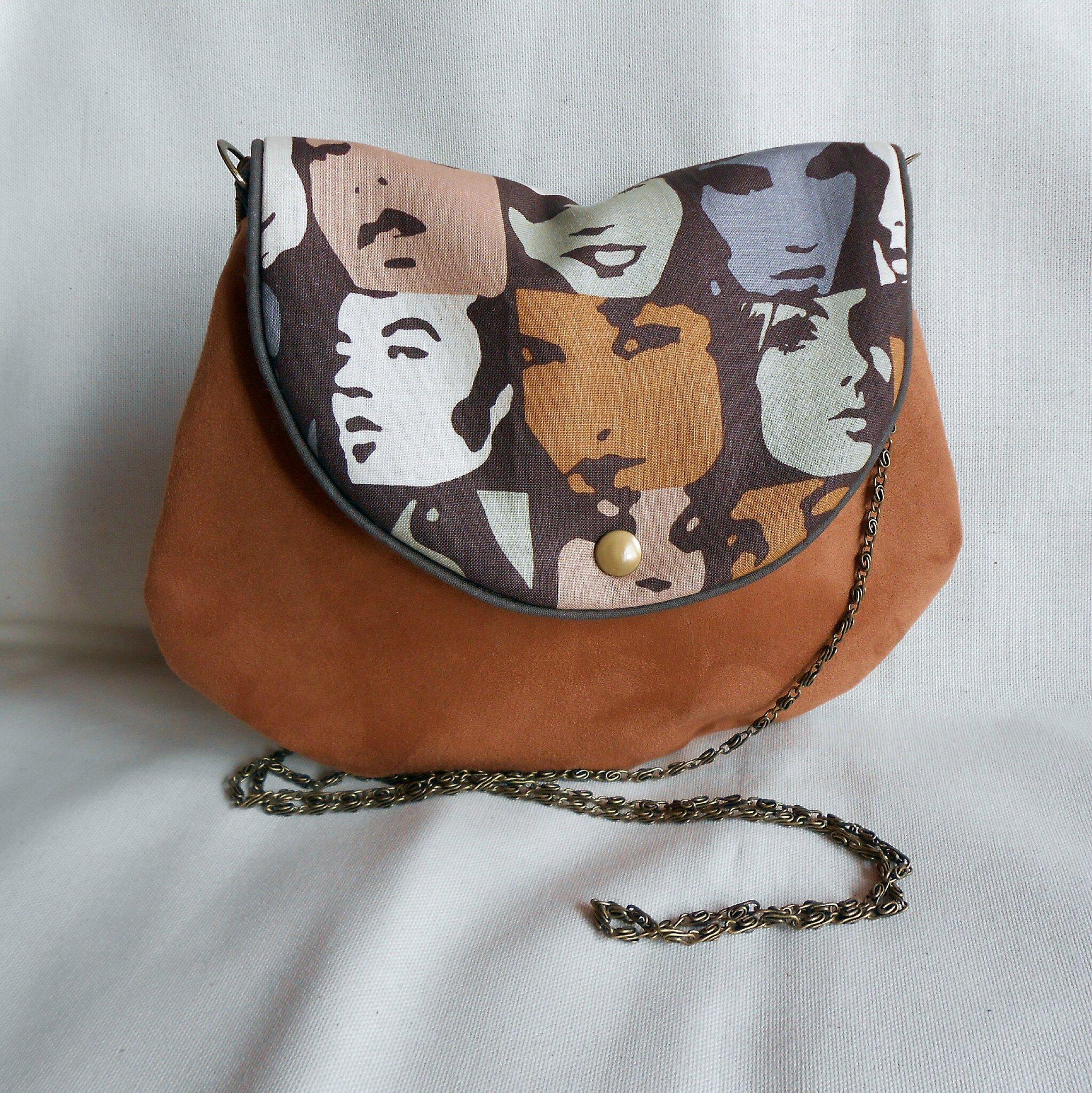 Clocréations-sac bandoulière visage femmes2