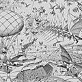 La guerre dans les airs ; h.g.wells