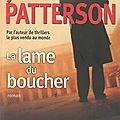 La lame du boucher de james patterson