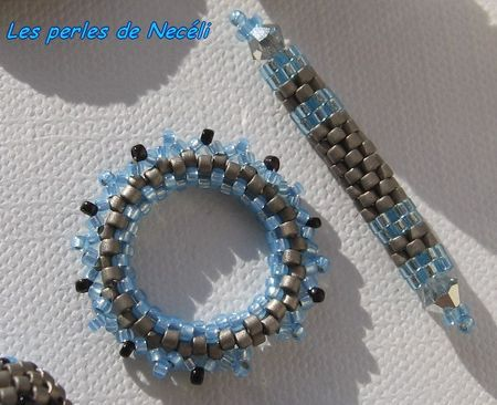 Mon premier fermoir toggle en perles