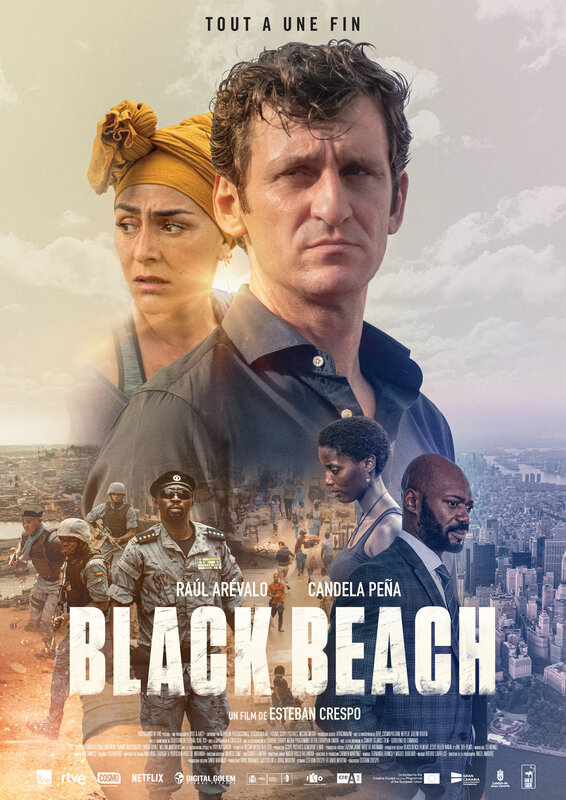 BLACK BEACH-Affiche
