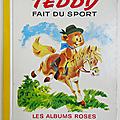 Livre ancien ... teddy fait du sport (1969) * albums roses