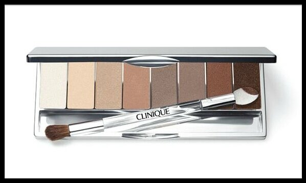 clinique nude collection palette fards paupieres