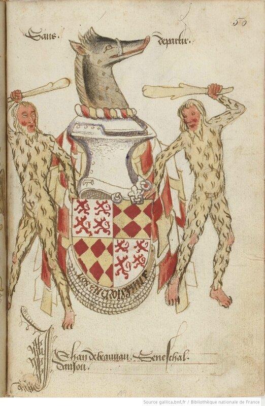 De Beauvau Los Croissant Statuts de l'Ordre du Croissant, fondé par René d'Anjou (1448)