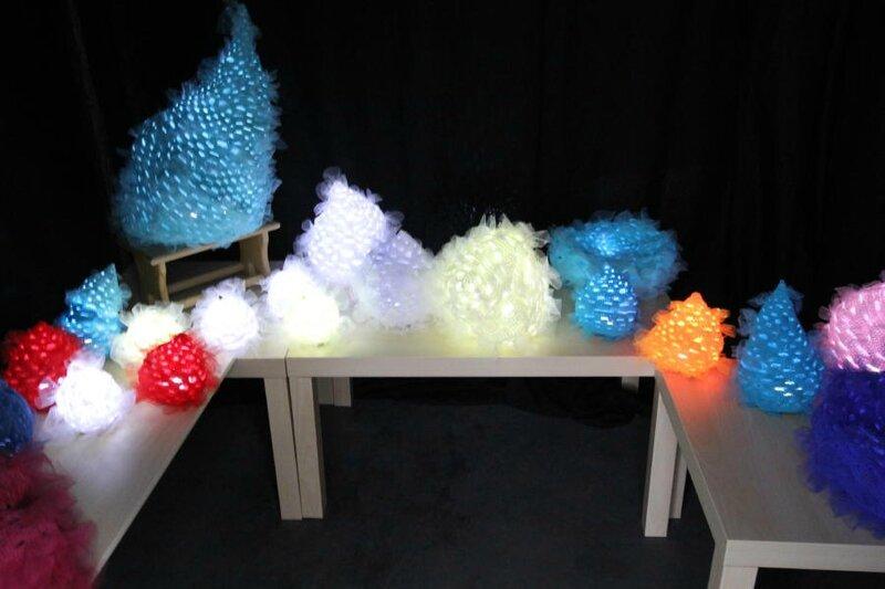 Nathalie Rochard, Artiste textile