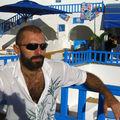 Sur une terrasse à Tunis.