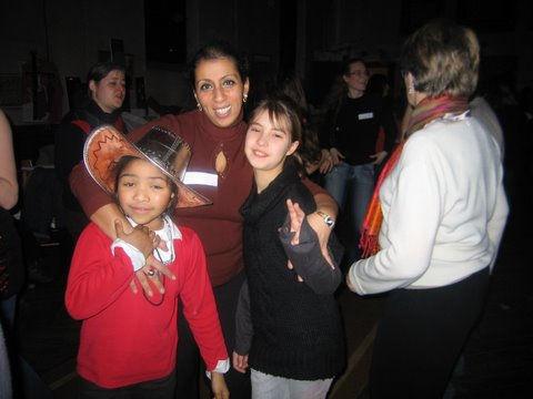 Fatima et Sidonie hiver 2010