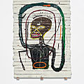 Jean-michel basquiat, flexible, 1984