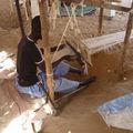 Les textiles africains, tissage et fibres