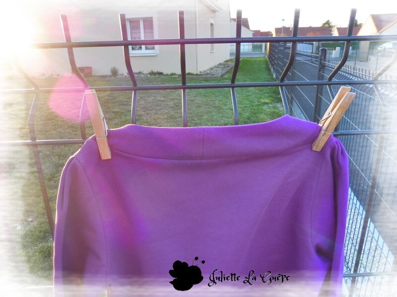 Aura et Nina sweat purple9
