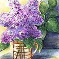 lilas +vitre de cheminée(article du 30 avril2011