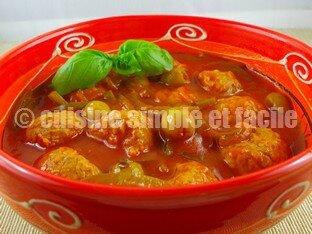 boulettes de veau olive et poivron 06