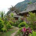 Bungalows a Nong Khiaw
