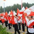 Le peuple local accueilli chaleureusement la Flamme Olympique