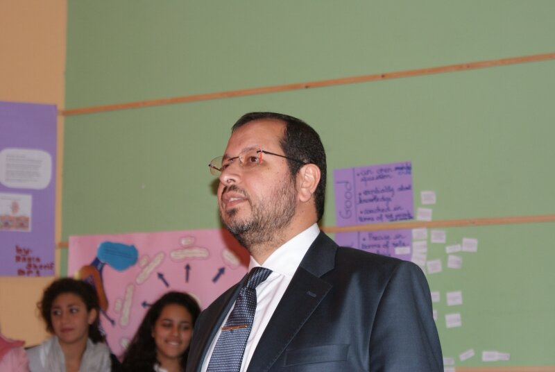 Mr Amr Mokhtar, General director and IBDP Coordinator