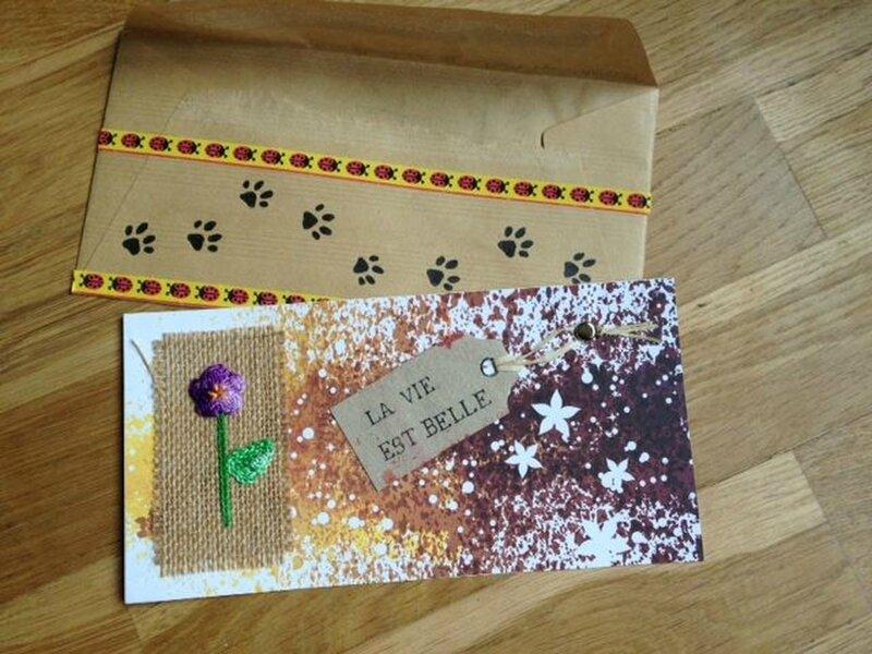 art postal Marjolaine 2