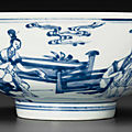 A blue and white bowl, yongzheng six-character mark in underglaze blue within a double circle and of the period (1723-1735)