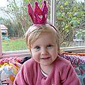 Une adorable petite princesse