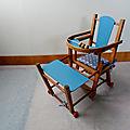 Chaise vintage pour poupées VENDUE