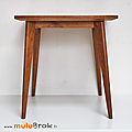 Petit mobilier ... table basse * marqueterie