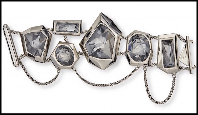 swarovski jean paul gaultier collection reverse bracelet