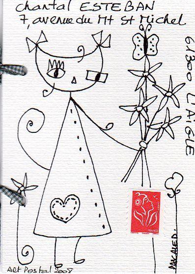 Mailart pour Chantal Esteban001