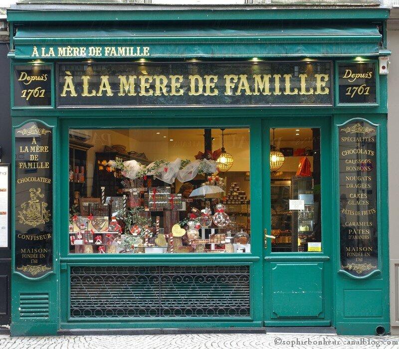 boutique mère famille