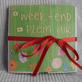 Mini album Un week-end en plein air
