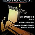 Open to court - 3ème édition - film de genre