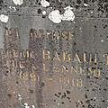babault albert sylvain (ecueillé) + 23/07/1918 rocourt-saint-martin (02)